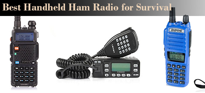 best handheld ham radio for survival