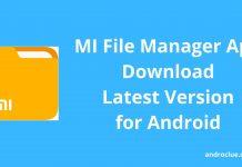 MI File Manager Apk