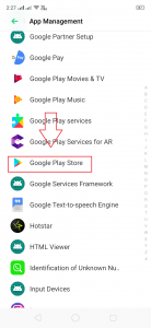 Google Play Store Errors