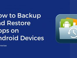 Backup and Restore Apps on Android