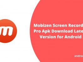 Mobizen Screen Recorder Pro Apk