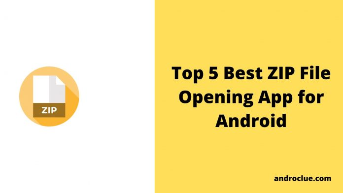 Best Zip File Opening App
