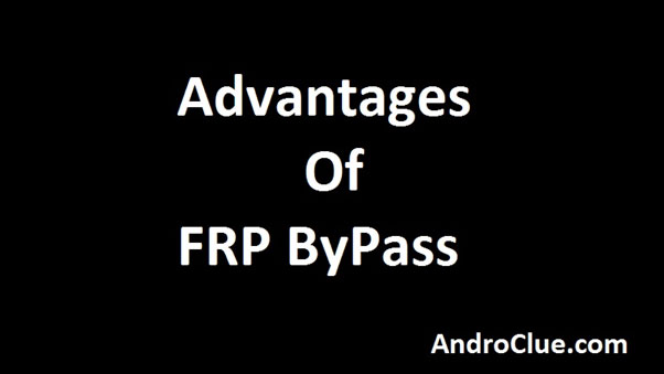 Advantages of FRP ByPass