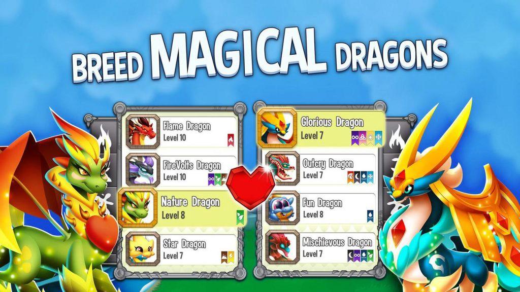 Dragon City MOD Apk Description