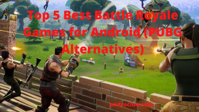 best battle royale games