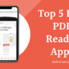 Best PDF Reader apps
