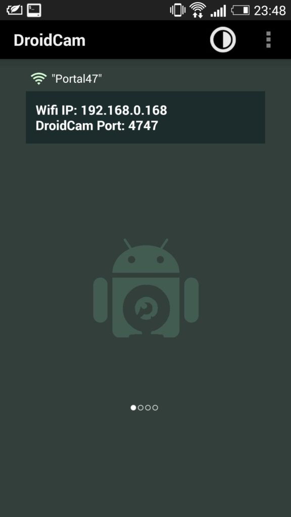 Use Android as Webcam