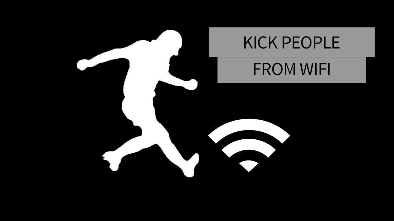 Kick People Off Your Wi-fi