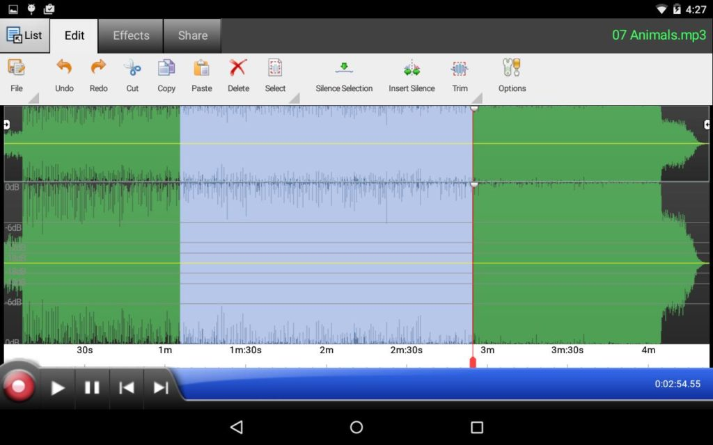 audacity for Android