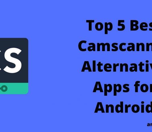 Camscanner Alternative Apps
