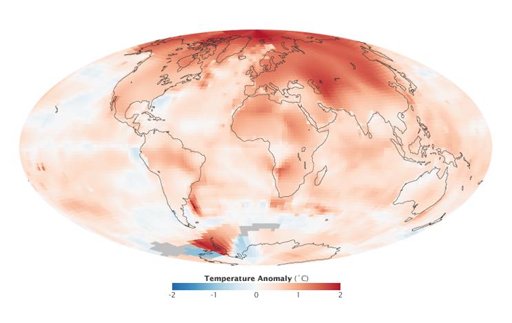 Arctic Hottest Temperature
