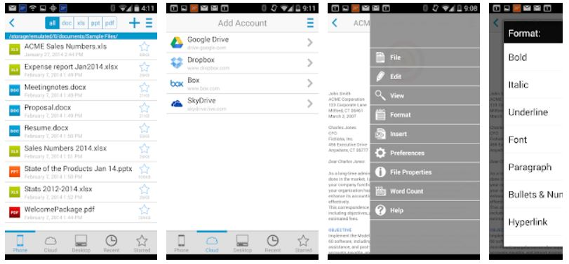 Best Office Apps for Android