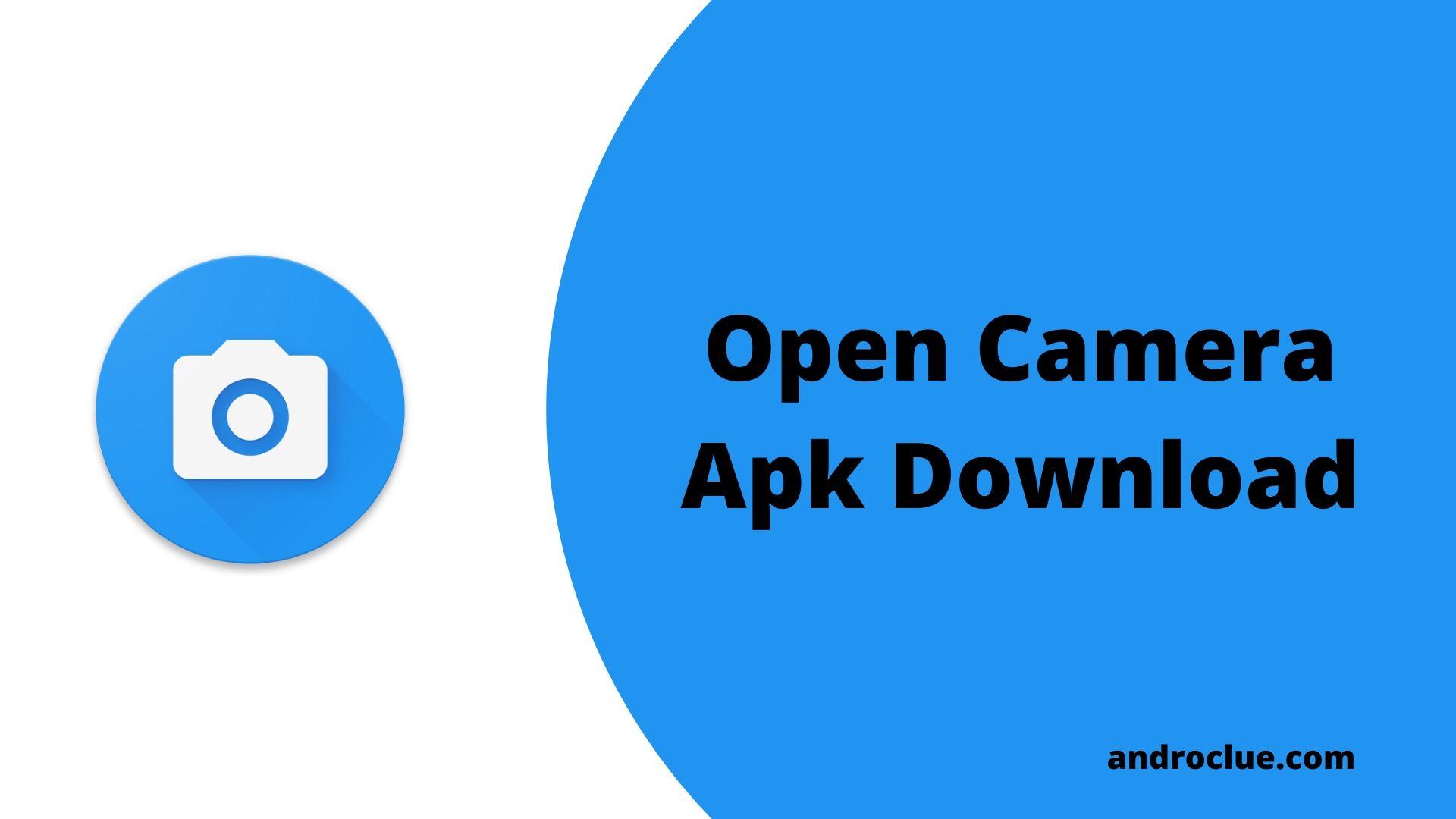 Open Camera Apk