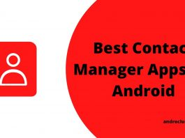 Best Contact Manager Apps