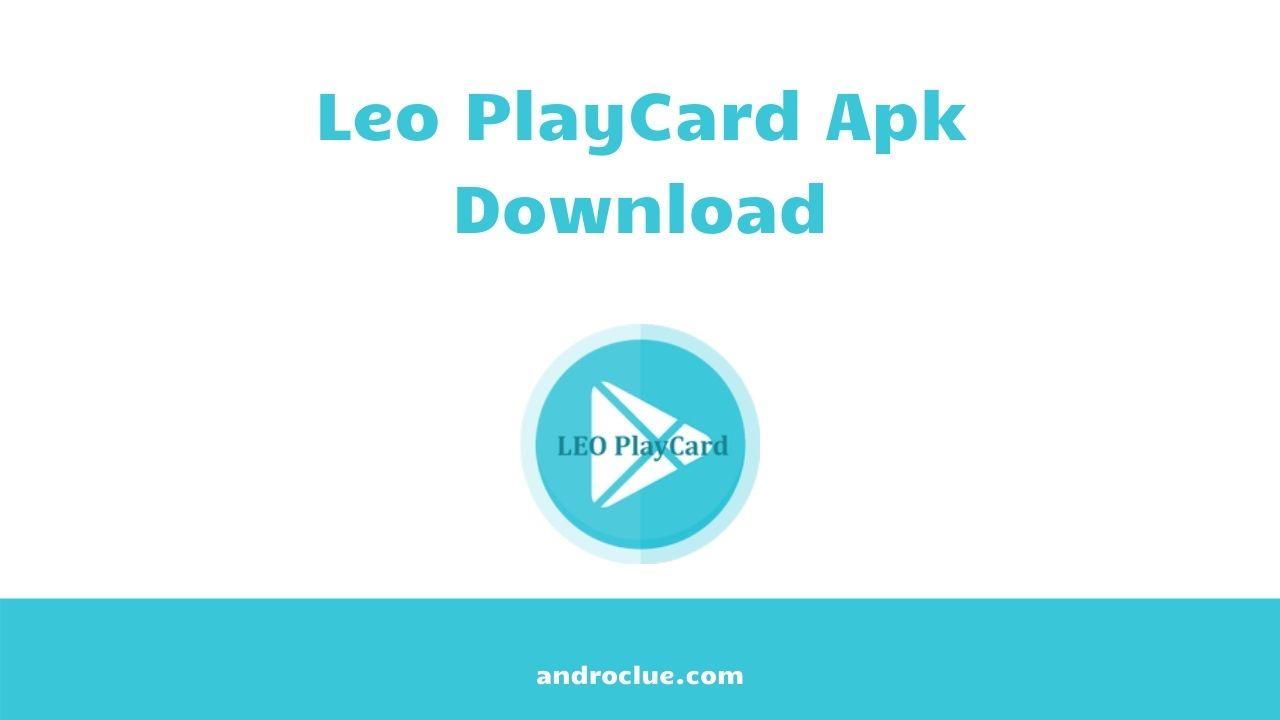 Leo PlayCard Apk