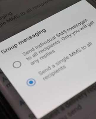 add someone to group text