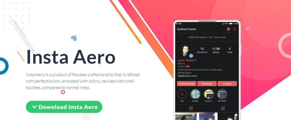 Aero Insta Apk