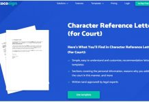 Character Reference for the Family Court