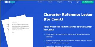 How Do I Write a Character Reference for the Family Court