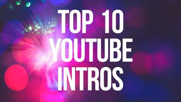 interesting Youtube intro video