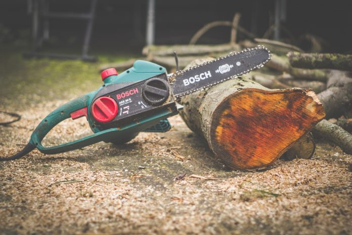 Chainsaw At Home