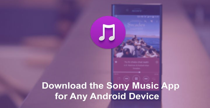 Sony Music Apk